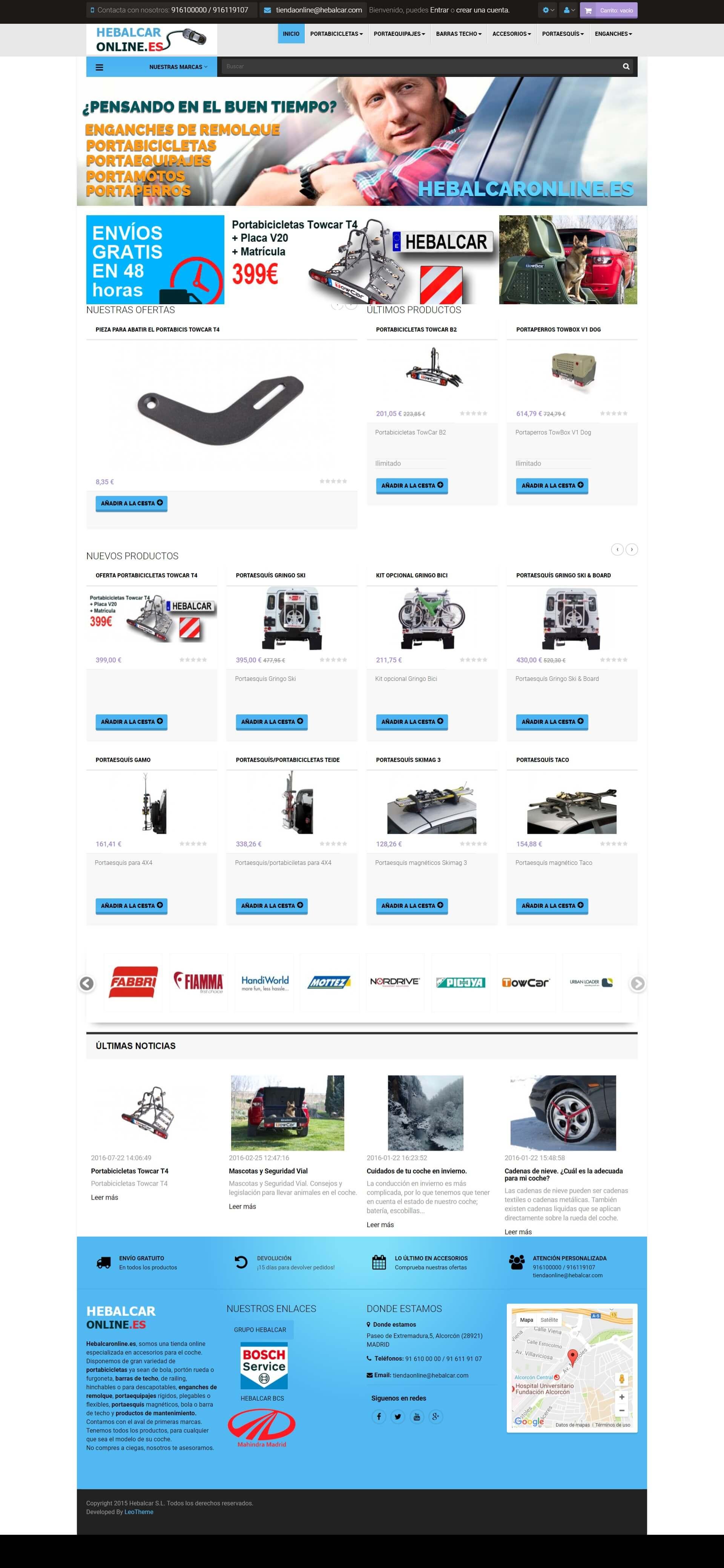 tienda online - hebalcar