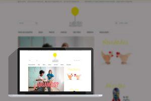 Tienda online diseño el globo amarillo