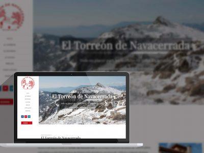 Diseño web - El Torreón de Navacerrada
