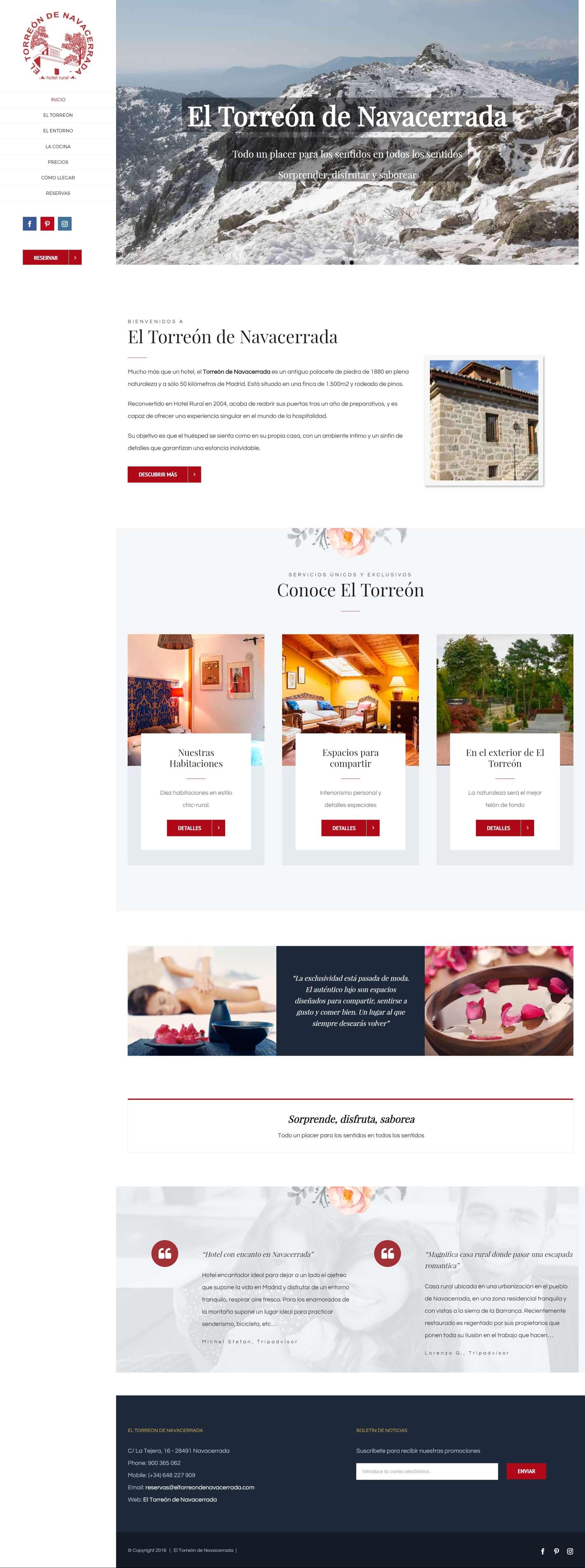 Desarrollo web - Samsara